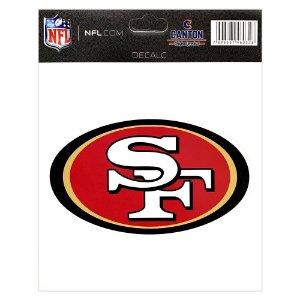 Adesivo Especial San Francisco 49ers Logo NFL