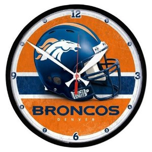 Relógio de Parede NFL Denver Broncos 32cm