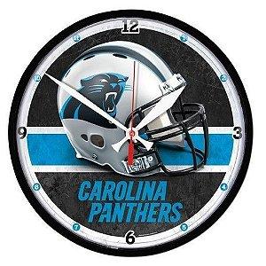 Relógio de Parede NFL Carolina Panthers 32cm