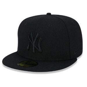 Boné New York Yankees 5950 MLB 100 All Black - New Era