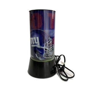 Luminária Rotativa 30cm NFL New York Giants 120V