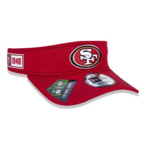 Viseira San Francisco 49ers Sideline Road NFL - New Era