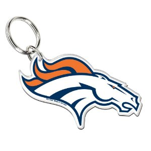 Chaveiro Premium Acrílico Denver Broncos NFL
