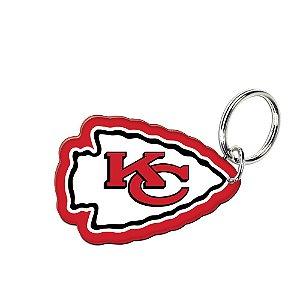 Chaveiro Premium Acrílico Kansas City Chiefs NFL