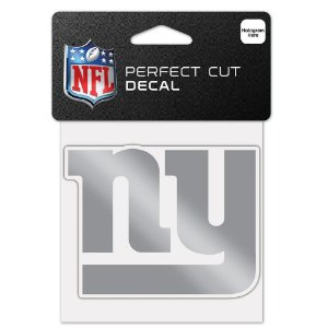Adesivo Perfect Cut Decal Cromado NFL New York Giants