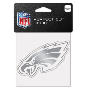 Adesivo Perfect Cut Decal Cromado NFL Philadelphia Eagles