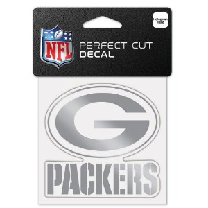Adesivo Perfect Cut Decal Cromado NFL Green Bay Packers