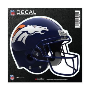 Adesivo All Surface Capacete NFL Denver Broncos