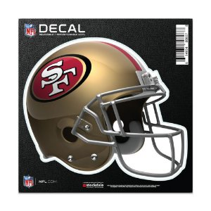 Adesivo All Surface Capacete NFL San Francisco 49ers