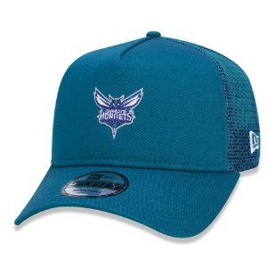 Boné Charlotte Hornets 940 Essentials Trucker A-Frame - New Era