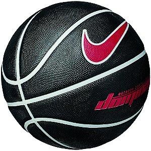 Bola de Basquete Nike Dominate Preto/Branco/Vermelho