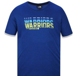 Camiseta Golden State Warriors Neon Color - New Era