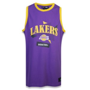 Regata Los Angeles Lakers Sports Basketball - New Era