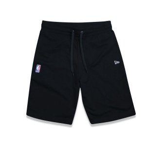 Bermuda Moletom NBA Mini Logoman - New Era