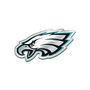 Auto Emblema Acrílico/Metal Philadelphia Eagles NFL