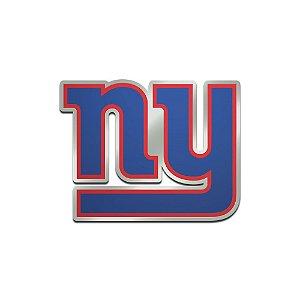 Auto Emblema Acrílico/Metal New York Giants NFL