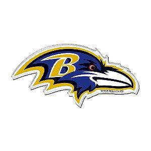 Imã Magnético Acrílico Baltimore Ravens NFL