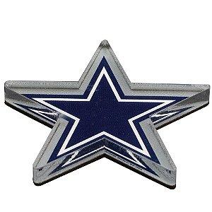 Imã Magnético Acrílico Dallas Cowboys NFL