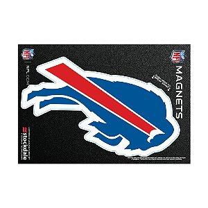 Imã Magnético Vinil 7x12cm Buffalo Bills NFL