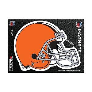 Imã Magnético Vinil 7x12cm Cleveland Browns NFL