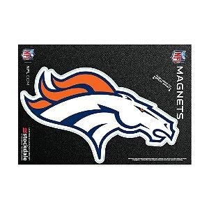 Imã Magnético Vinil 7x12cm Denver Broncos NFL