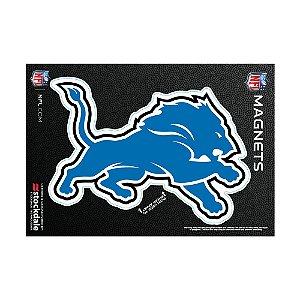 Imã Magnético Vinil 7x12cm Detroit Lions NFL