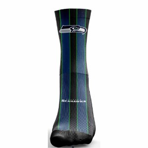Meia NFL Seattle Seahawks Sublimada Cano longo