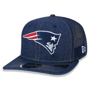 Boné New England Patriots 950 Denim Stitched - New Era