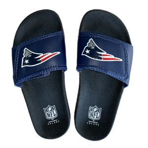 Chinelo New England Patriots Slide Velcro - NFL