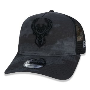 Boné Milwaukee Bucks 940 Truck Camo A8 - New Era