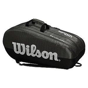 Raqueteira Wilson Team X15 Cinza