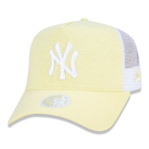Boné New York Yankees 940 Woman Jersey Amarelo - New Era