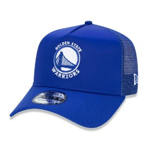 Boné Golden State Warriors 940 90s Cont Trucker - New Era