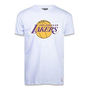 Camiseta NBA Los Angeles Lakers Big Logo Branco