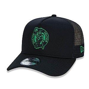 Boné Boston Celtics 940 90s Cont Trucker - New Era