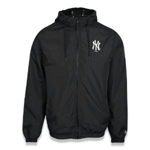 Jaqueta Quebra vento New York Yankees Sazonal Quad Preto - New Era