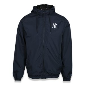 Jaqueta Quebra vento New York Yankees Sazonal Quad Azul - New Era