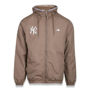 Jaqueta Quebra vento New York Yankees Alkaline Taped Marrom - New Era
