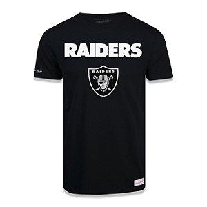 Camiseta NFL Las Vegas Raiders Estampada Preto - M&N