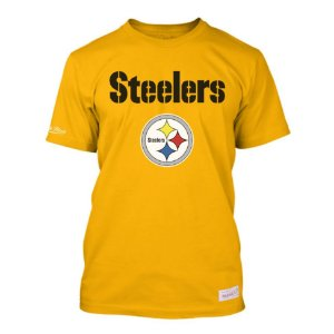 Camiseta NFL Pittsburgh Steelers Estampada Amarelo - M&N