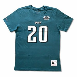 Camiseta NFL Philadelphia Eagles Player 20 Brian Dawkins Verde - M&N