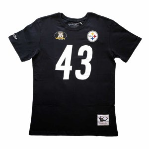 Camiseta NFL Pittsburgh Steelers Player 43 Troy Polamalu M&N