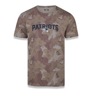 Camiseta New England Patriots Desert Camuflado - New Era