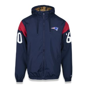 Jaqueta Quebra vento New England Patriots Reborn Heritage - New Era