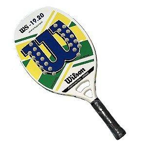Raquete de Beach Tennis Wilson WS 19.20 Azul