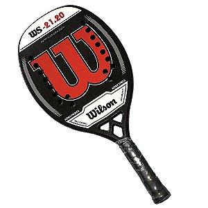 Raquete de Beach Tennis Wilson WS 21.20 Vermelho
