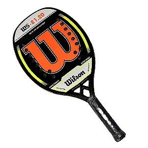 Raquete de Beach Tennis Wilson WS 21.20 Laranja