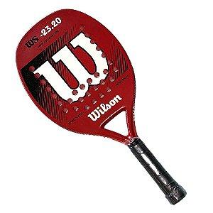 Raquete de Beach Tennis Wilson WS 23.20 Vermelho