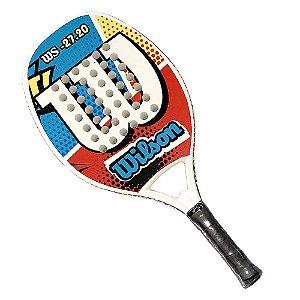 Raquete de Beach Tennis Wilson WS 27.20 Vermelho