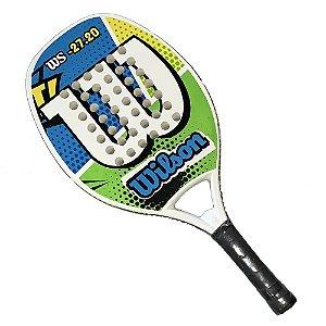 Raquete de Beach Tennis Wilson WS 27.20 Verde